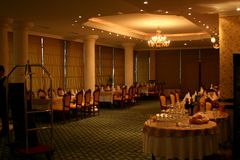 Ballroom. Turabo wedding ballroom for weddings Stock Images