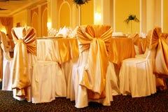Ballroom. A large wedding ballroom for weddings Stock Image