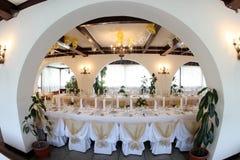 Ballroom. A wedding ballroom for weddings Stock Images