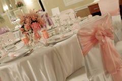 Ballroom. A small ballroom ready for the wedding Royalty Free Stock Photos