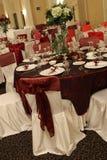 Ballroom. A small ballroom ready for the wedding Stock Photos