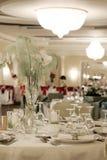 Ballroom. A large wedding ballroom for weddings Stock Photography