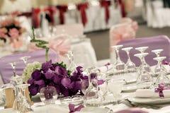 Ballroom. A large wedding ballroom for weddings Royalty Free Stock Photos