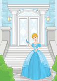 Ballroom Cinderella Stone Magic Staircase Stock Photography