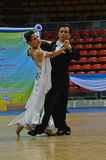 Ballroom dance challenge in Thailand 2013 Royalty Free Stock Images