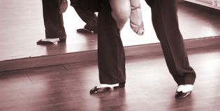 Ballroom dance dancers Royalty Free Stock Images