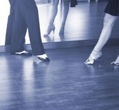 Ballroom dance dancers Royalty Free Stock Photo