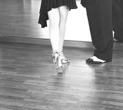 Ballroom dance dancers Stock Photos