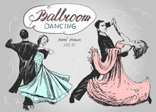 Ballroom dance Stock Photo