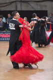 Ballroom dance couple Royalty Free Stock Images