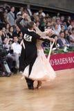 Ballroom dance couple Stock Photos
