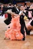 Ballroom dance couple Stock Images
