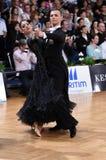 Ballroom dance couple Royalty Free Stock Photos