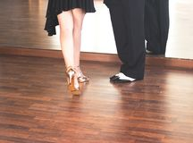 Ballroom dance dancers Royalty Free Stock Photos
