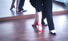 Ballroom dance dancers Stock Photo