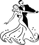 Ballroom dance Royalty Free Stock Photos