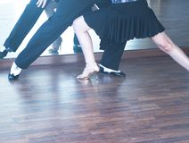 Ballroom dance dancers Stock Images