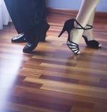 Ballroom dance latin dancers Stock Images