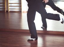 Ballroom dance male dancer Stock Photos
