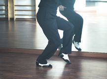 Ballroom dance male dancer Stock Images