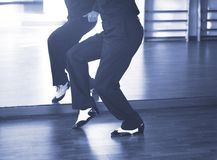 Ballroom dance male dancer Royalty Free Stock Photos