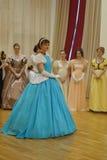 Ballroom dance in motion Royalty Free Stock Photos