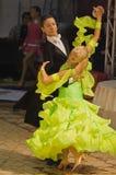 Ballroom Dance, Open Standard, 16-18 (1). Ballroom dancers, at the National Dance Contest, Cupa Romaniei, 25 October 2009, Timisoara,16 - 18 years, Open Standard Royalty Free Stock Photos