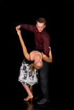 Ballroom dancers Royalty Free Stock Photography