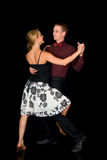 Ballroom dancers Stock Photography