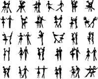 Ballroom dancers Royalty Free Stock Photos