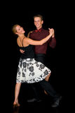 Ballroom dancers Stock Images