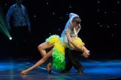 Ballroom Dancers Royalty Free Stock Photography