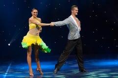 Ballroom Dancers Stock Images
