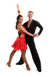 Ballroom Dancers Latin 14 Royalty Free Stock Photos