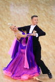 Ballroom dancing competition Royalty Free Stock Photography