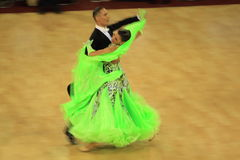 Ballroom dancing competition Royalty Free Stock Photo