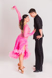 Ballroom dancing Stock Photography