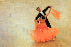 Ballroom dancing in Prague Stock Photography