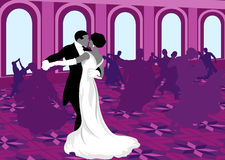 Ballroom dancing. Stock Images