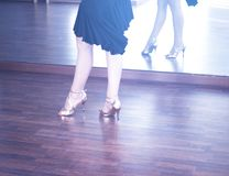 Ballroom dance dancer Stock Photography