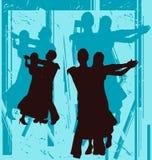 Ballroom Grunge. Ballroom Dancing Background Illustration with a grunge feel vector illustration