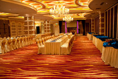 Ballroom Interior Design Stock Photo