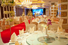 Ballroom Interior Design Stock Images