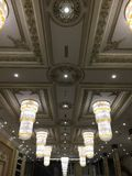 Ballroom lighting Royalty Free Stock Image