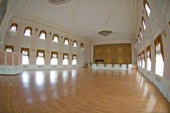 Ballroom in Peterhof. Inside Palace of Peter I in Peterhof near Saint-Petersburg stock images