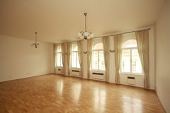 Ballroom. Picture of an empty ballroom Stock Photos