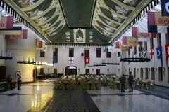 Ballroom in Ryn Castle Stock Photo