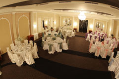 Ballroom seen from above. Grand ballroom seen from above Royalty Free Stock Photo