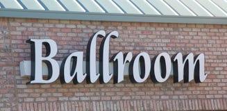Ballroom Sign on a dance studio. Stock Image