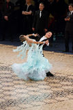 Ballroom Standard - Dance Masters 2012 Royalty Free Stock Photo